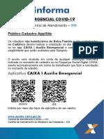 APP e site Auxílio Emergencial