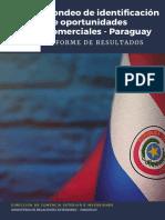 Sondeo de identificación de oportunidades comerciales Paraguay - 2020