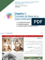 Chapitre 1 - Slides -  Introduction & Domaines d'Utilisation de la VA