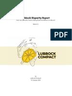 Lubbock Disparity Report Version 2