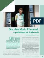 Dr. Eng Argonoma Ana Primavesi - Biografia