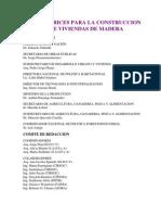 Directrices para la Construcción de  Viviendas en Madera