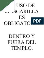 PROTOCOLO PARA EL COVID 19