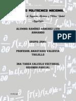 Calculo vectorial - tarea 3 - segundo parcial
