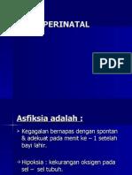 Asfiksis perinatal 2008