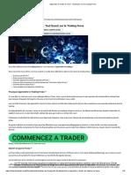 Apprendre à Trader le Forex - Tout Savoir sur le Trading Forex