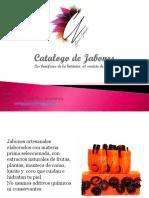 CATALOGO JABONES CORRINAS NATURALS
