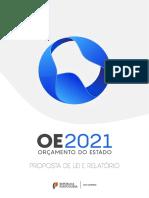 Proposta do Orçamento do Estado para 2021