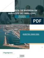 PROPUESTA DE EMPRESA DE SERVICIOS DE OBRA CIVIL