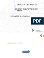 C, 01 PLAN DE CIERRE Y RECUPERACIÓN EN
