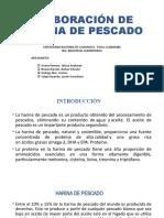 ELABORACIÓN DE HARINA DE PESCADO