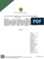 Edson Fachin nega recurso de José Gomes contra cassação do mandato
