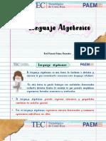 lenguaje algebraico paem 2020 profmarisolsolanobenavides