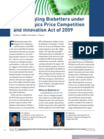 Disentangling Biobetters under the Biologics Price Competition and Innovation Act of 2009