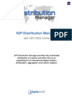 IGP Distribution Manager Brochure