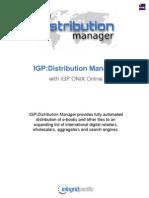 IGP Distribution Manager Brochure