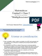 4°-MAT- PPT  Multiplicación  (3 partes)