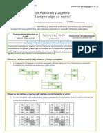 4°-MAT- Guía 1 Patrones y algebra