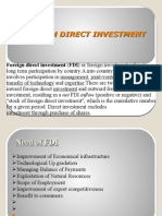 FOREIGN DIRECT INVESTMENT (2)