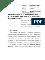 RECURSO DE CASACION