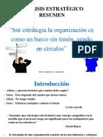 CLASE 6 ANALISIS ESTRATEGICO