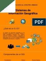 Introducción a los sistemas de información Geografica