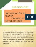 Localización y diseño de las instalaciones