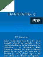 Exenciones de IVA