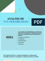 ·3ANALISIS DE VULNERABILIDAD DOFA
