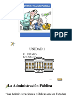 Administración  Publica Bolivia