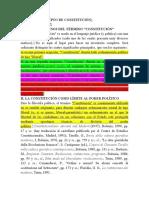 EL CONCEPTO DE CONSTITUCIÓN 2 semestre