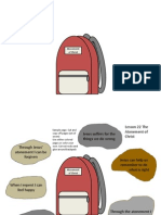 Atonement of Christ Lesson 22 Activity Backpack
