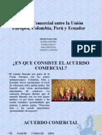 acuerdo comercial entre la union europea, colombia, peru y ecuador