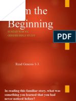 01-From the Beginning