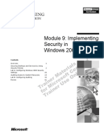 Implementing Security in Windows 2000.pdf