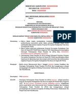 Contoh Format-SK Kades-Pengangkatan P3A