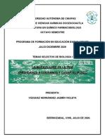 PROYECTO REZAGO EDUCATIVO TEMAS SELECTOS DE BIOLOGIA I.