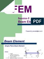FEM5 Beam Element.pptx