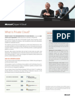 Hyper v Private Cloud Datasheet Final