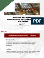 Dirección de Empresas - Productividad y Q.pptx