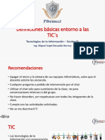 Sesión 01 - Definiciones Básicas de TIC