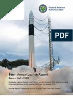 FAA Semi-Annual Launch Report - 2nd Half 2009