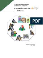 OS Retail Pharmacy Assisting  L2