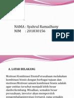 AKL 1 Syahrul ramadhany 201830156
