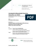 Introducao da Manutencao Preventiva Sistematica nos SASUC