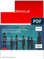 Cloud PPM for Project-centric Service Organizations