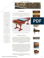 The fortepiano - cembalo worldwide