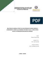 Relatório Saúde da Criança PIESC IV