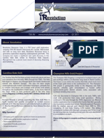 Revolution Resources Investor Factsheet