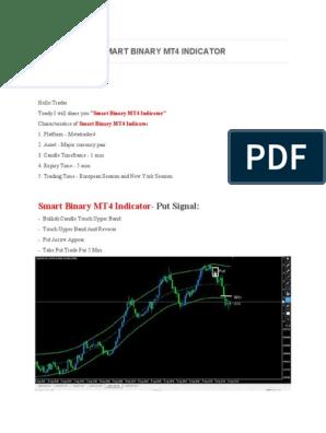 Smart Binary Mt4 Indicator